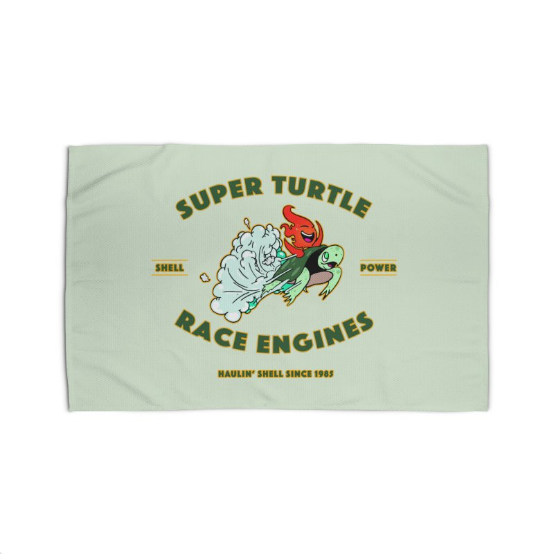 Super Turtle Engine Home Rug by Norman Wilkerson Designs