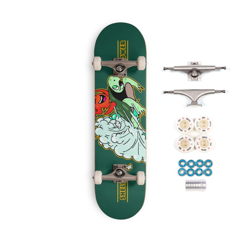 Super Turtle Engine Accessories Complete - Premium Skateboard by Norman Wilkerson Designs