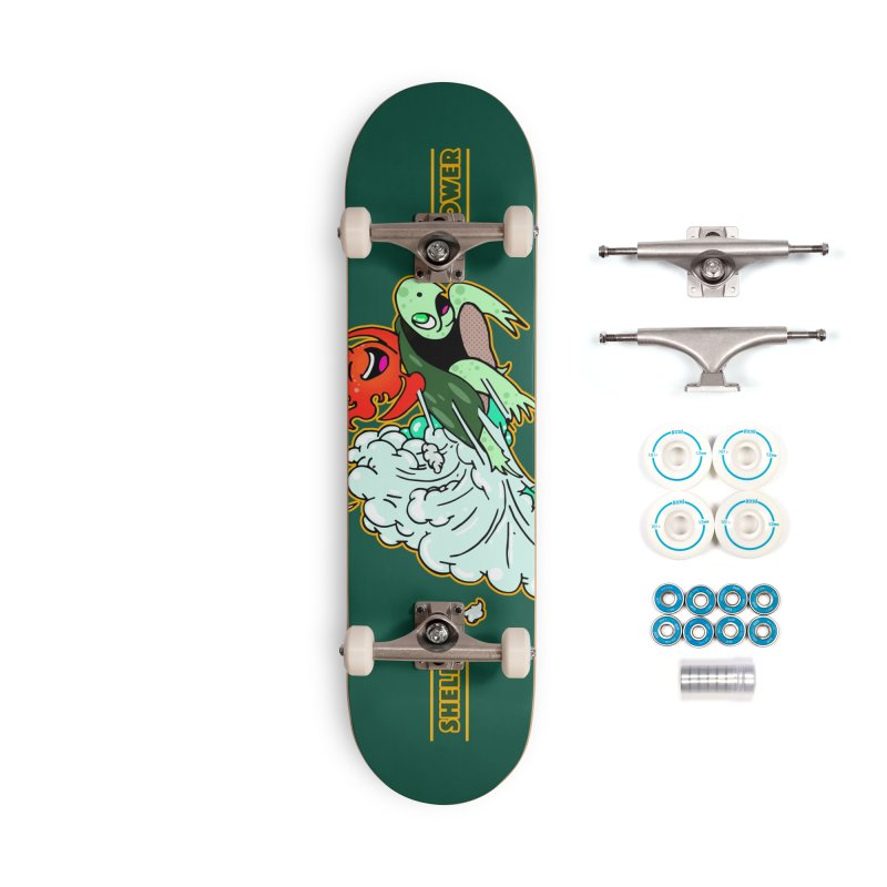 Super Turtle Engine Accessories Complete - Basic Skateboard by Norman Wilkerson Designs
