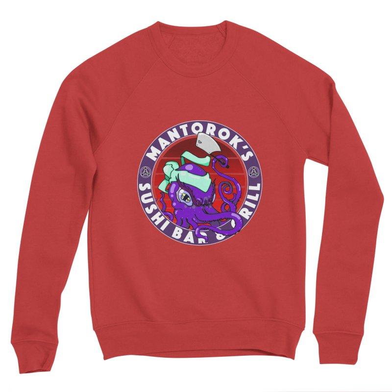 Eternal Sushi King Women's Sponge Fleece Sweatshirt by Norman Wilkerson Designs