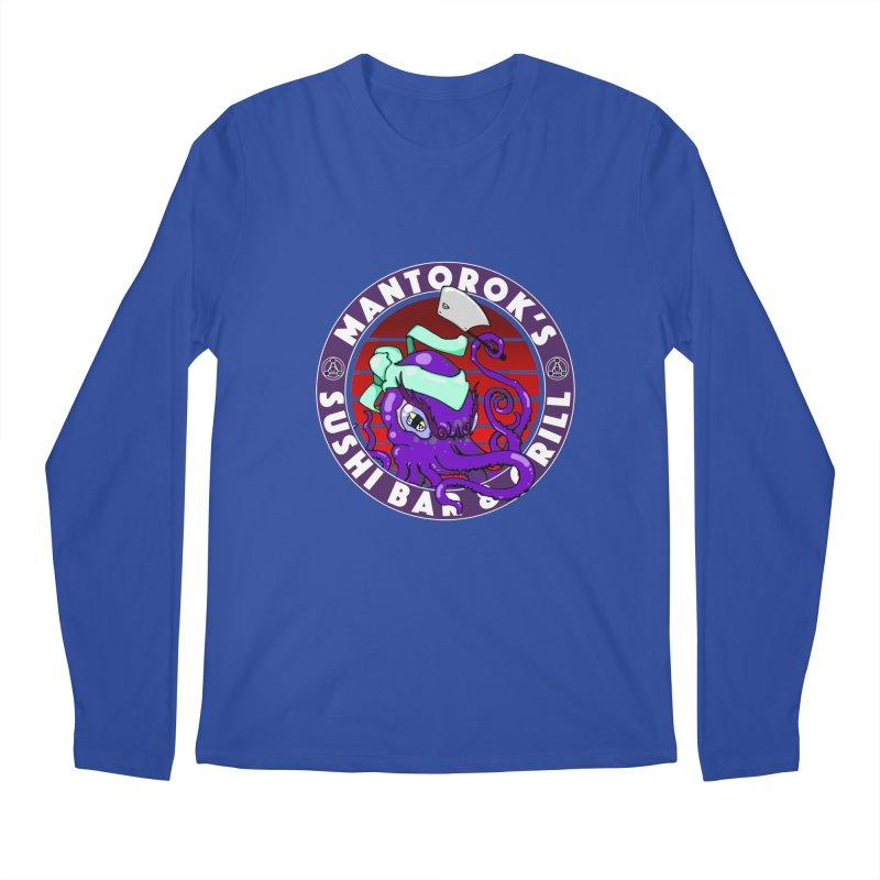Eternal Sushi King Men's Regular Longsleeve T-Shirt by Norman Wilkerson Designs