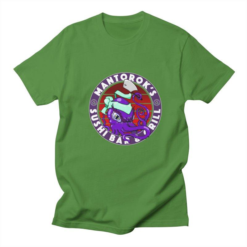 Eternal Sushi King Men's T-Shirt by Norman Wilkerson Designs