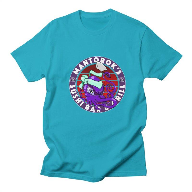 Eternal Sushi King Men's Regular T-Shirt by Norman Wilkerson Designs
