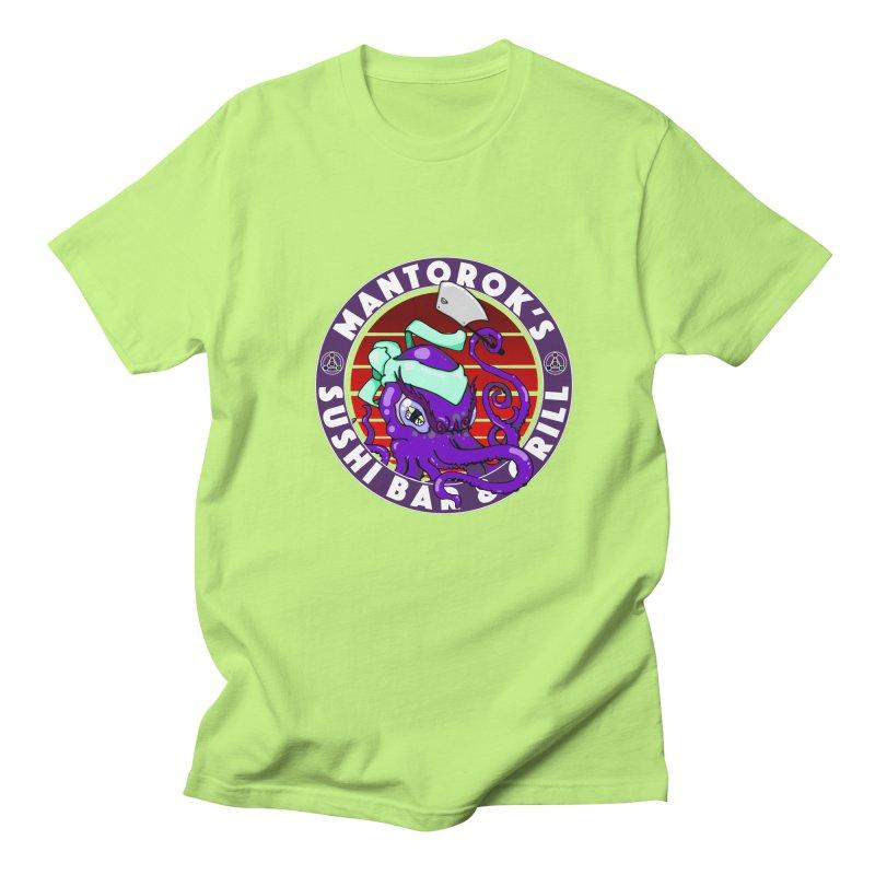 Eternal Sushi King Women's Regular Unisex T-Shirt by Norman Wilkerson Designs