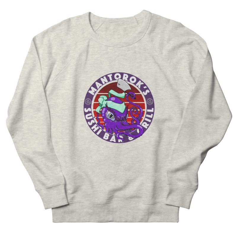 Eternal Sushi King Women's French Terry Sweatshirt by Norman Wilkerson Designs