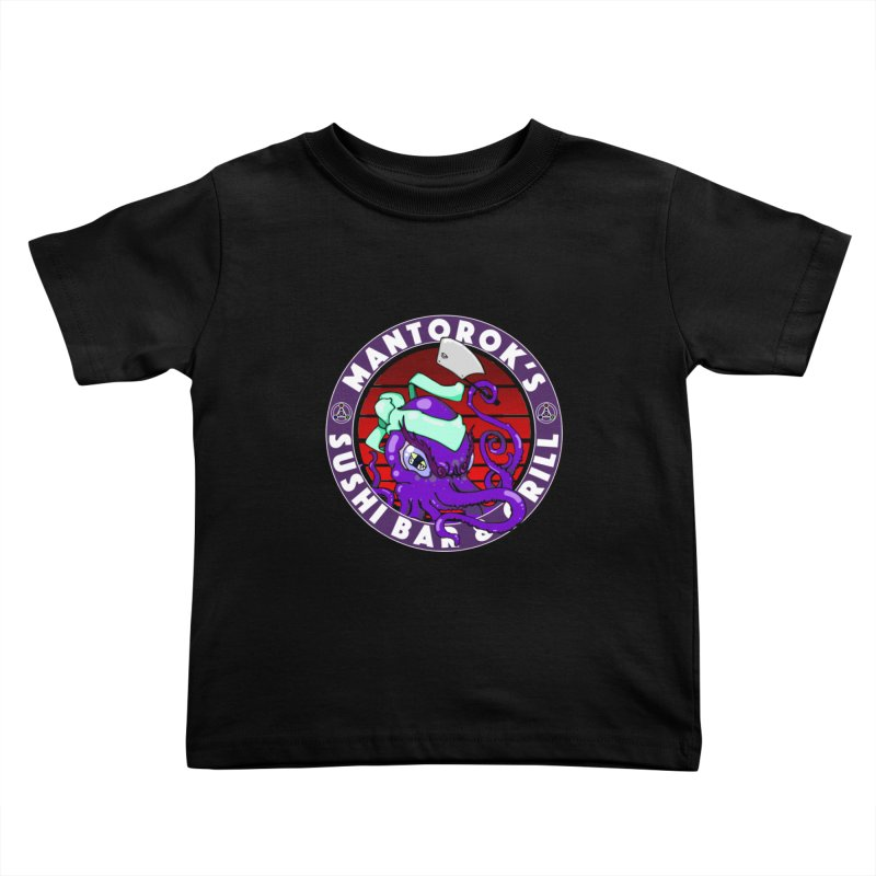 Eternal Sushi King Kids Toddler T-Shirt by Norman Wilkerson Designs