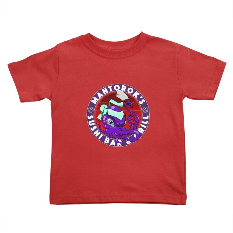 Eternal Sushi King Kids Toddler T-Shirt by Norman Wilkerson Designs