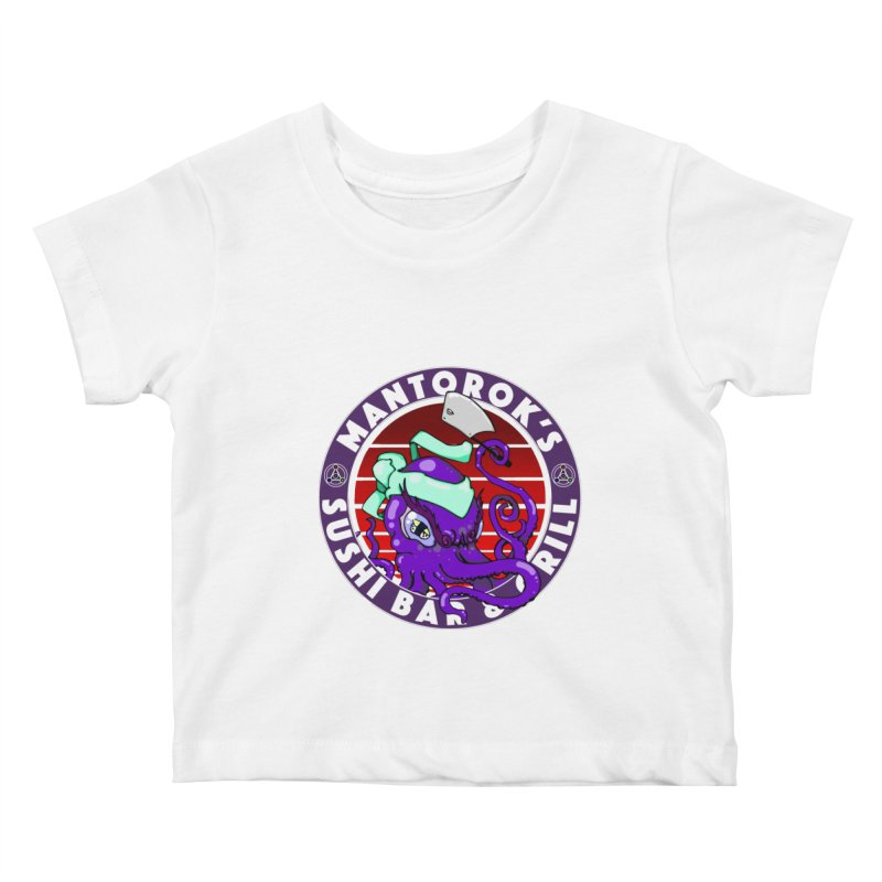 Eternal Sushi King Kids Baby T-Shirt by Norman Wilkerson Designs