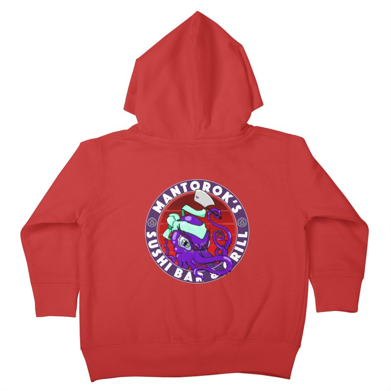 Eternal Sushi King Kids Toddler Zip-Up Hoody by Norman Wilkerson Designs