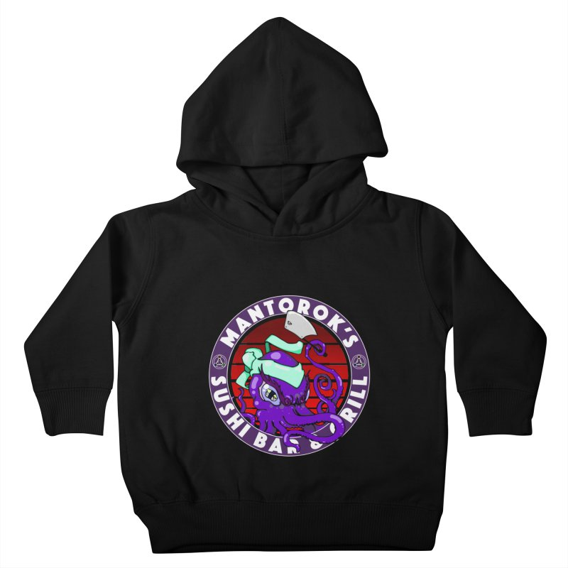 Eternal Sushi King Kids Toddler Pullover Hoody by Norman Wilkerson Designs