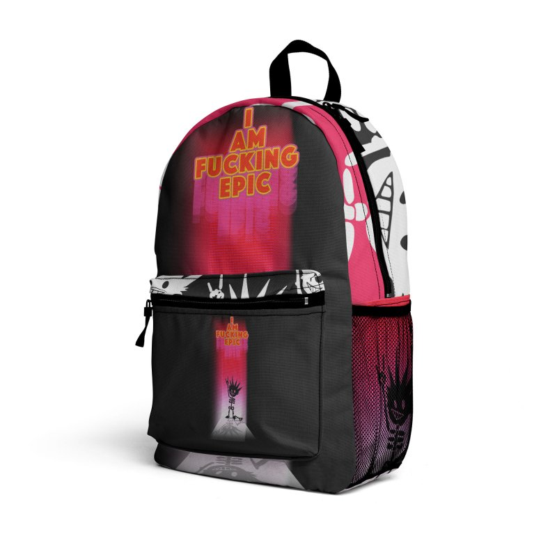 I am Epic Accessories Bag by Norman Wilkerson Designs