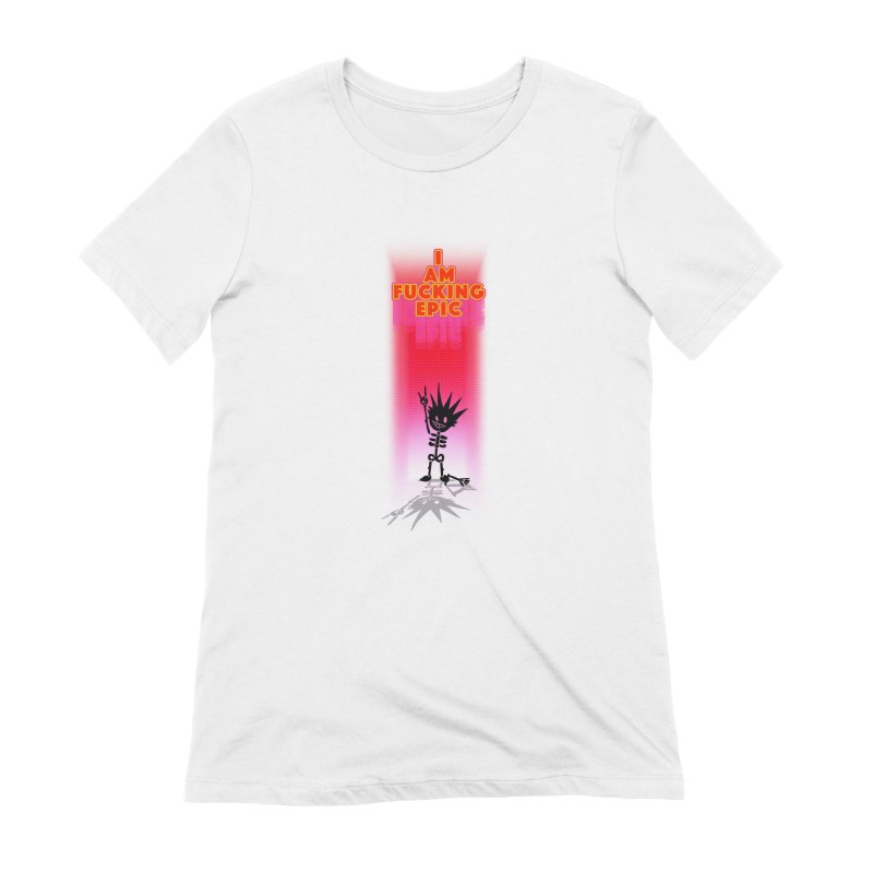 I am Epic Women's Extra Soft T-Shirt by Norman Wilkerson Designs