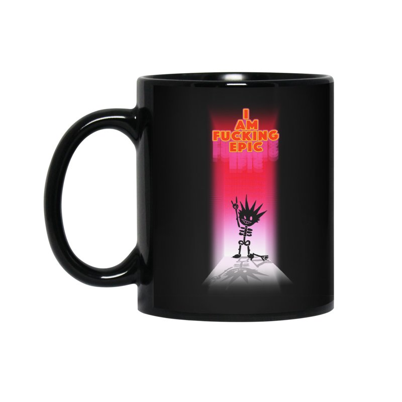 I am Epic Accessories Standard Mug by Norman Wilkerson Designs