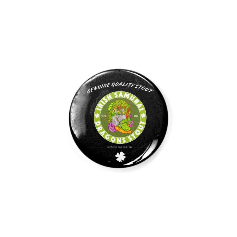 Irish Samurai Accessories Button by Norman Wilkerson Designs