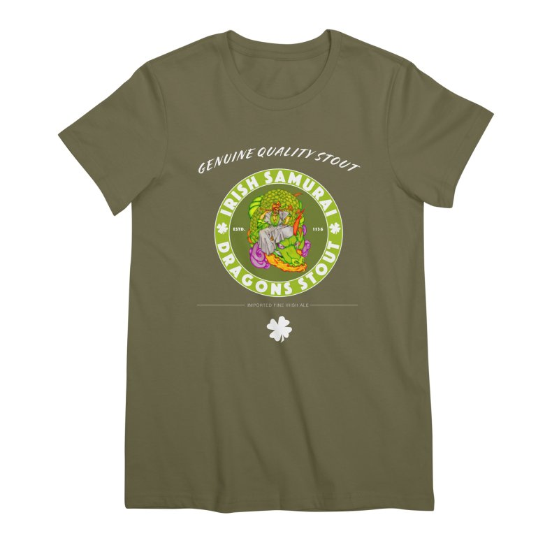 Irish Samurai Women's Premium T-Shirt by Norman Wilkerson Designs