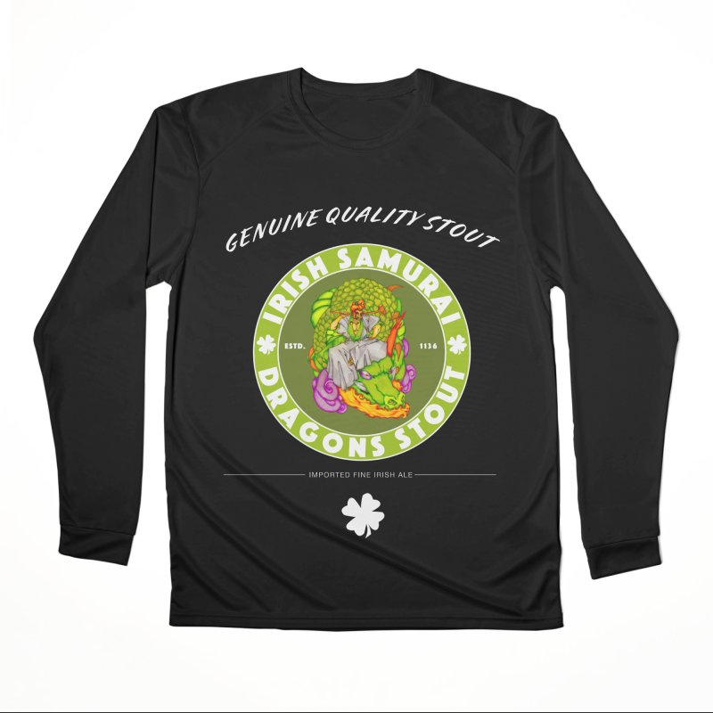 Irish Samurai Men's Performance Longsleeve T-Shirt by Norman Wilkerson Designs