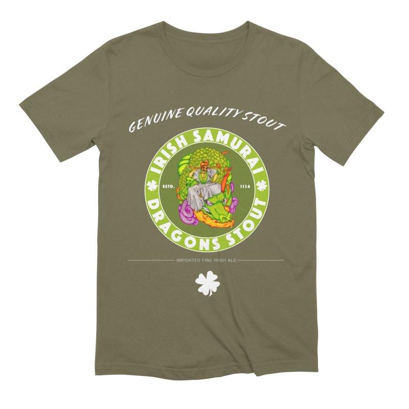 Irish Samurai Men's Extra Soft T-Shirt by Norman Wilkerson Designs