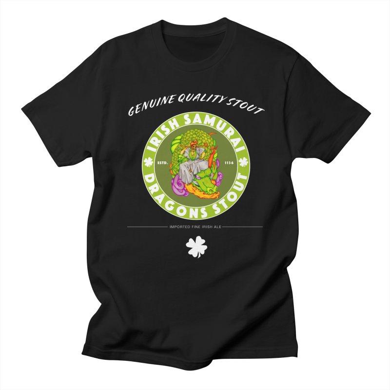 Irish Samurai Men's Regular T-Shirt by Norman Wilkerson Designs