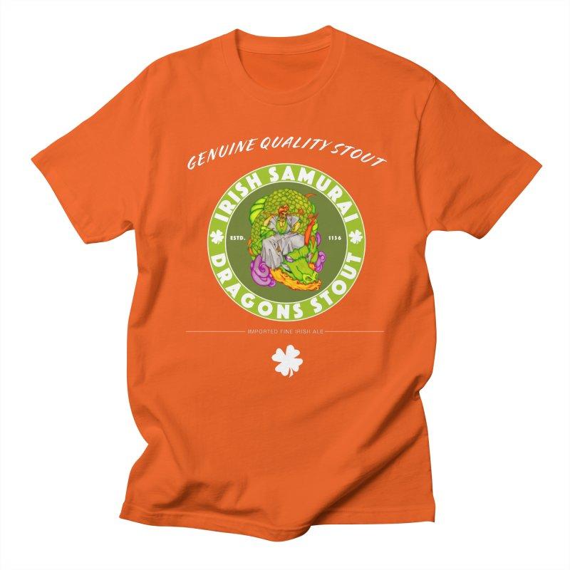 Irish Samurai Women's Regular Unisex T-Shirt by Norman Wilkerson Designs