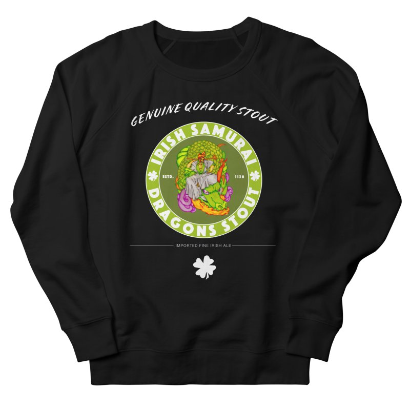 Irish Samurai Men's French Terry Sweatshirt by Norman Wilkerson Designs