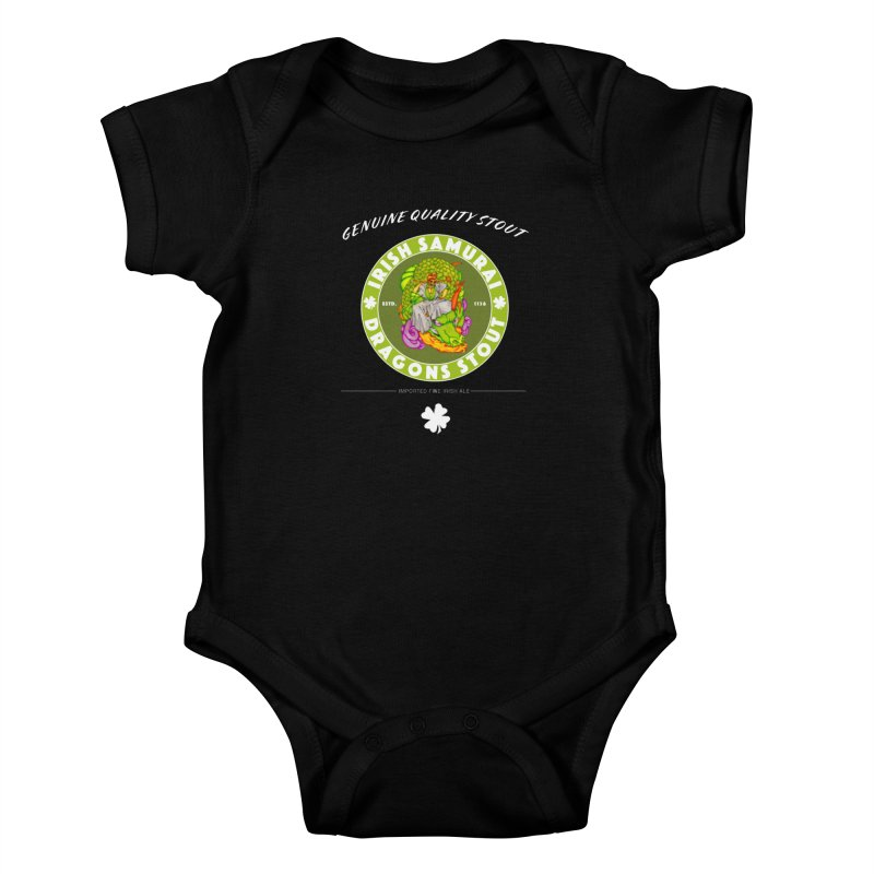 Irish Samurai Kids Baby Bodysuit by Norman Wilkerson Designs
