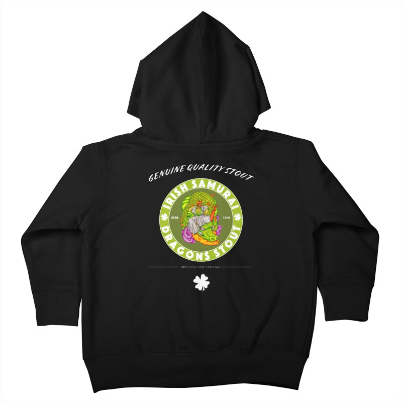 Irish Samurai Kids Toddler Zip-Up Hoody by Norman Wilkerson Designs