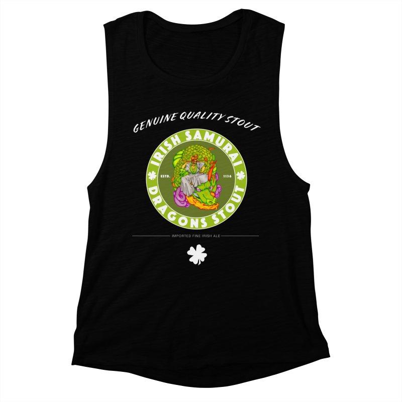 Irish Samurai Women's Muscle Tank by Norman Wilkerson Designs