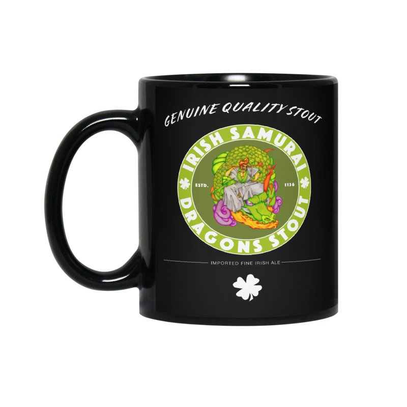 Irish Samurai Accessories Standard Mug by Norman Wilkerson Designs