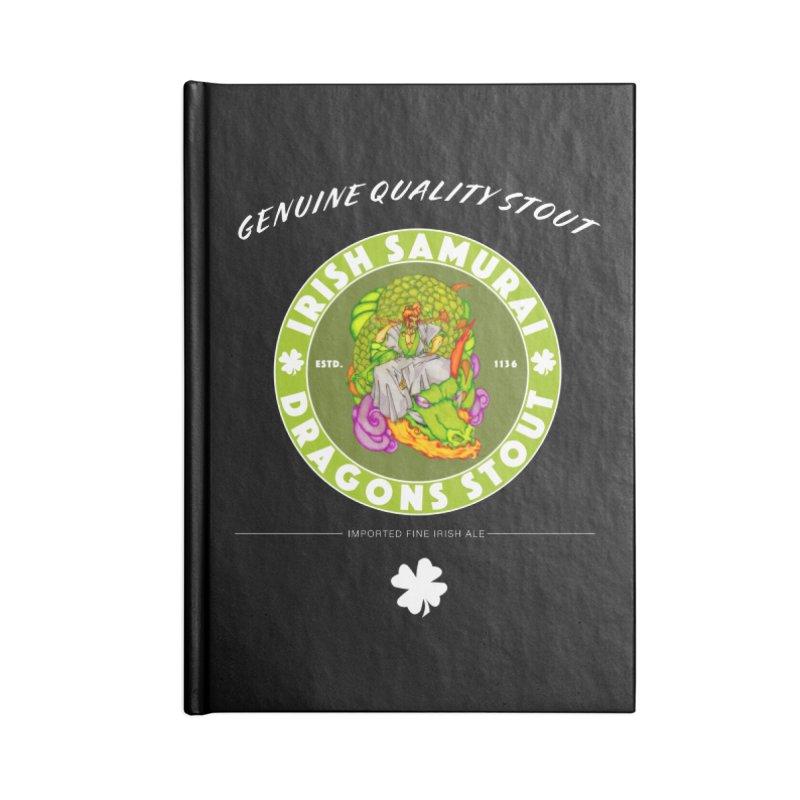 Irish Samurai Accessories Blank Journal Notebook by Norman Wilkerson Designs