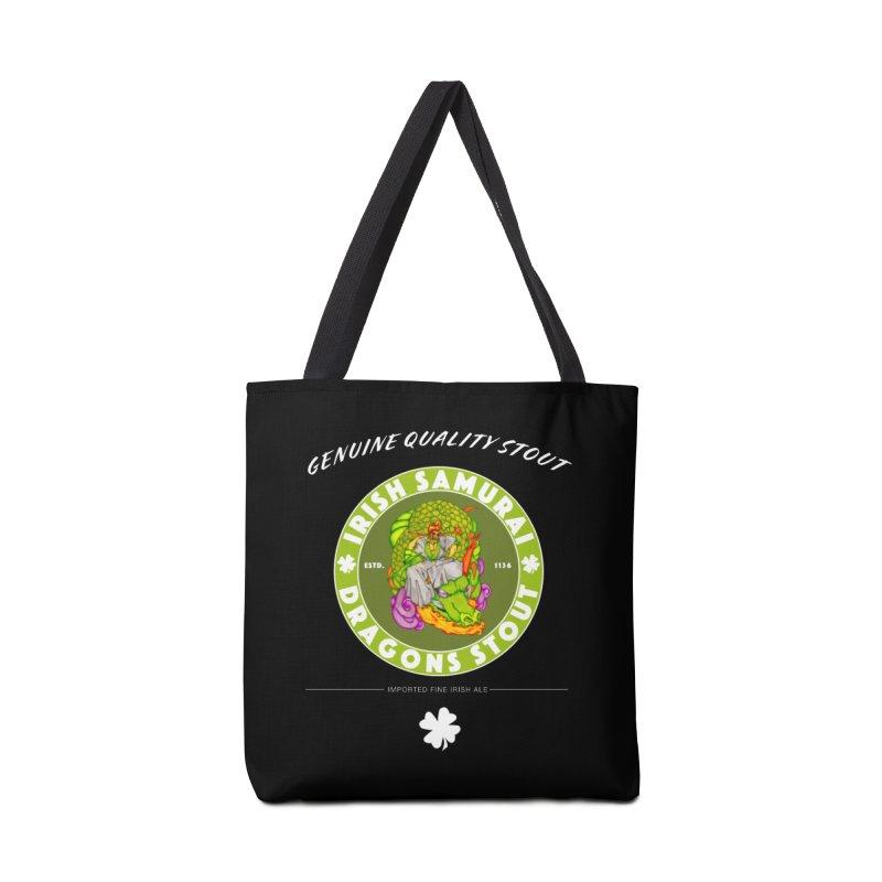 Irish Samurai Accessories Tote Bag Bag by Norman Wilkerson Designs