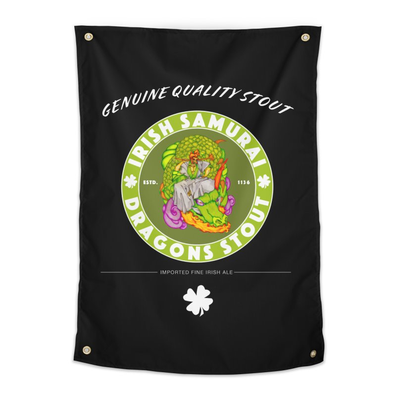 Irish Samurai Home Tapestry by Norman Wilkerson Designs