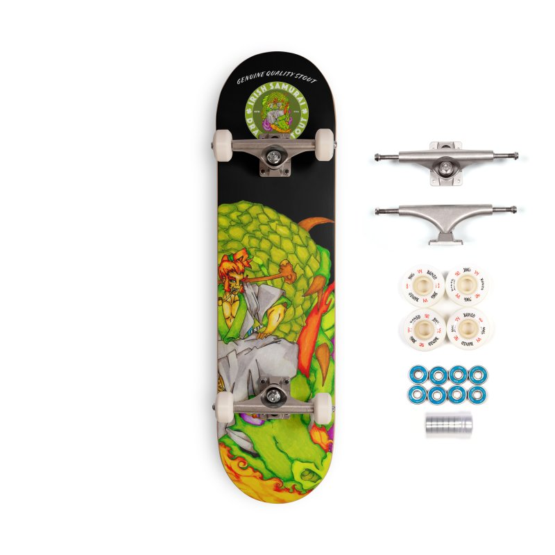 Irish Samurai Accessories Complete - Premium Skateboard by Norman Wilkerson Designs