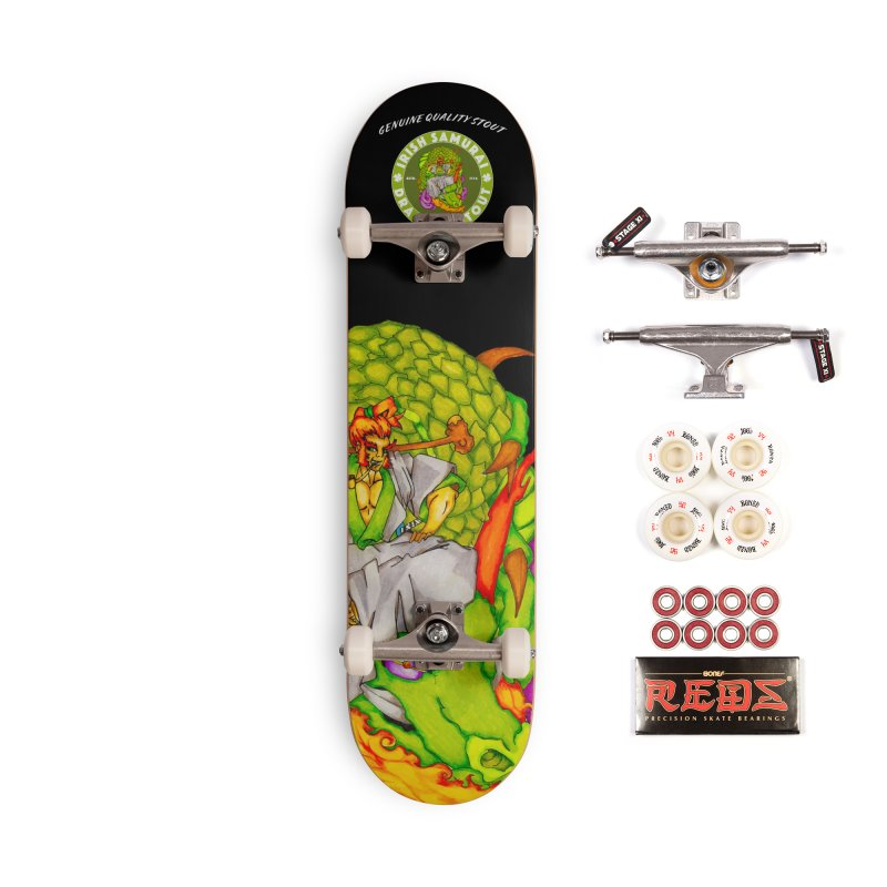 Irish Samurai Accessories Complete - Pro Skateboard by Norman Wilkerson Designs