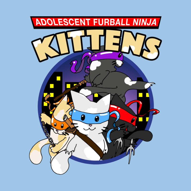 Adolescent Furball Ninja Kittens Kids Toddler Zip-Up Hoody by Norman Wilkerson Designs