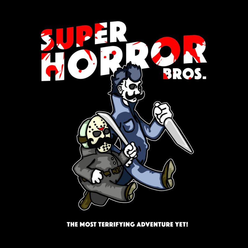 Super Horror Bros Accessories Bag by Norman Wilkerson Designs
