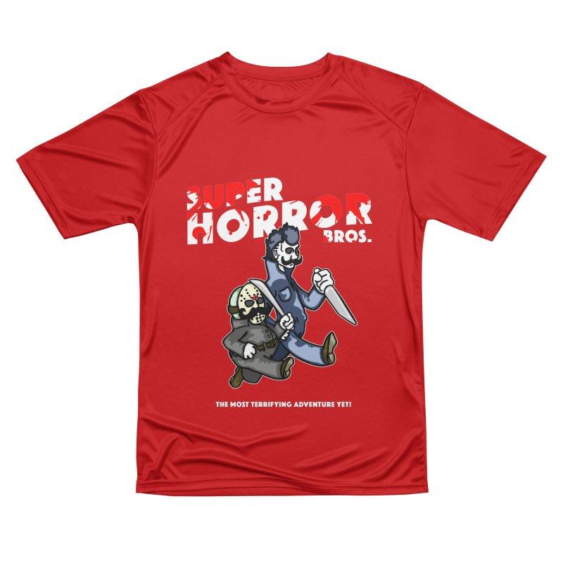 Super Horror Bros Women's Performance Unisex T-Shirt by Norman Wilkerson Designs