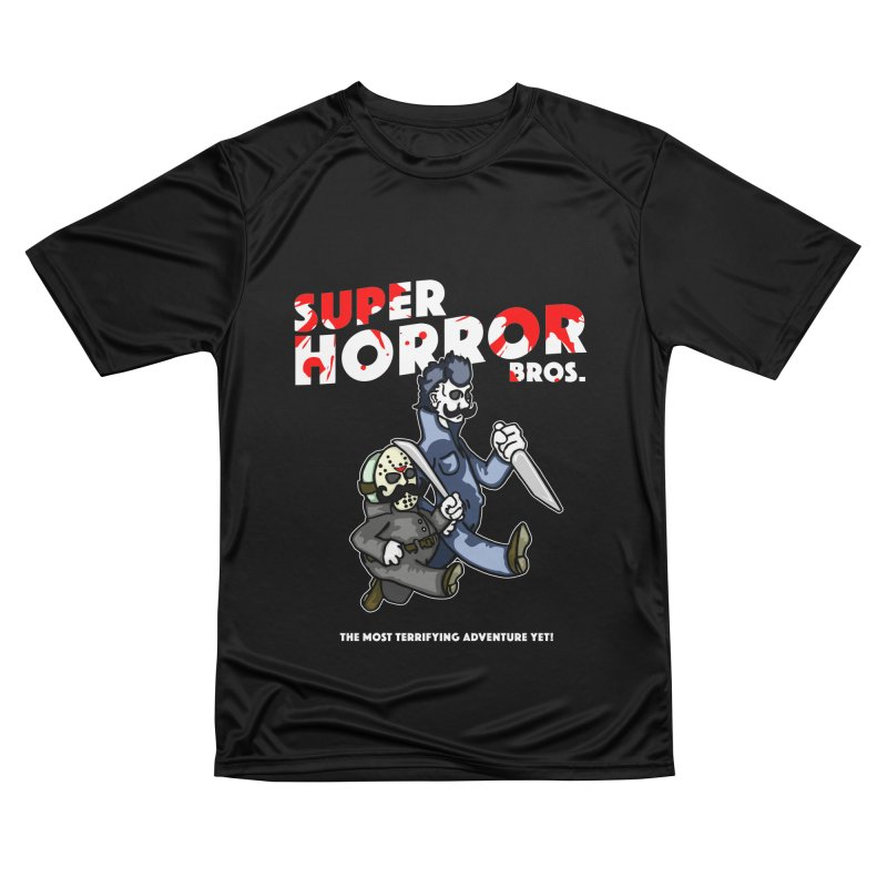 Super Horror Bros Men's Performance T-Shirt by Norman Wilkerson Designs