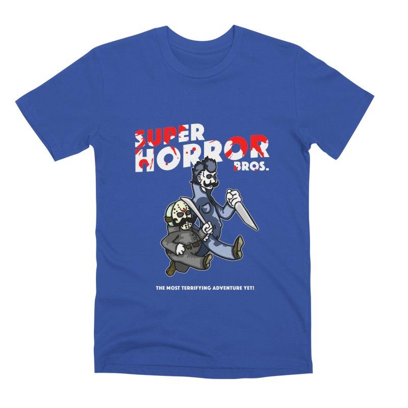 Super Horror Bros Men's T-Shirt by Norman Wilkerson Designs
