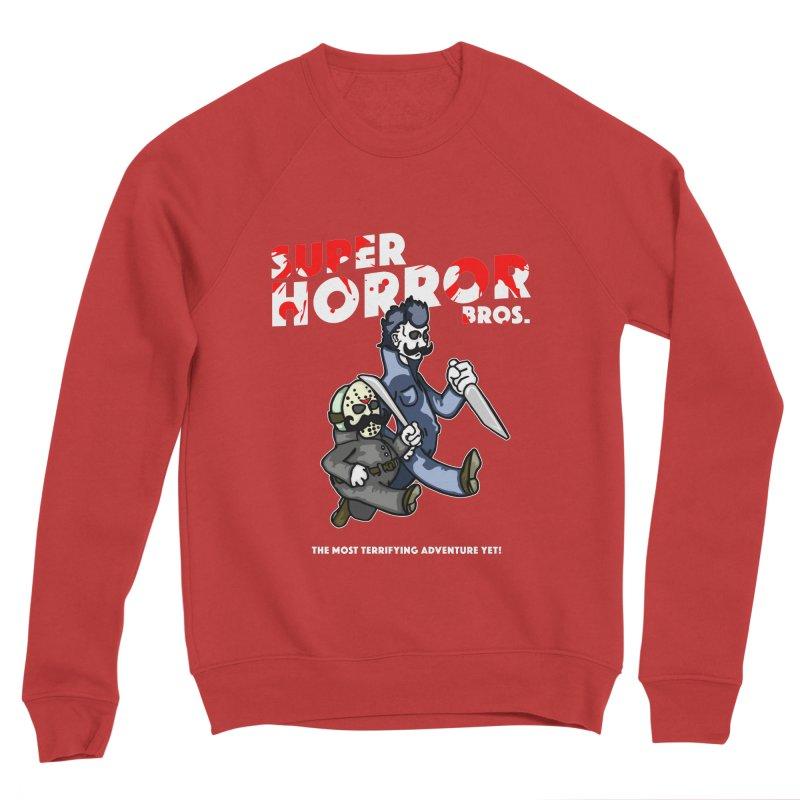 Super Horror Bros Women's Sponge Fleece Sweatshirt by Norman Wilkerson Designs