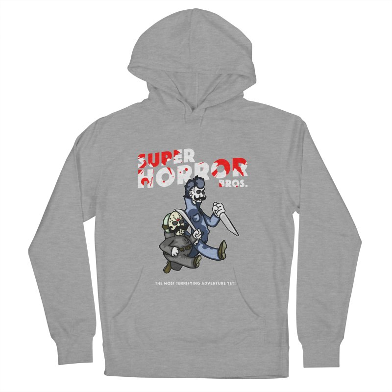 Super Horror Bros Women's Pullover Hoody by Norman Wilkerson Designs
