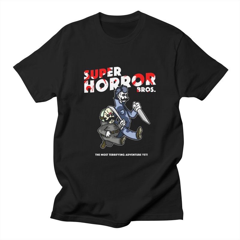 Super Horror Bros Men's T-Shirt by Norman Wilkerson Designs