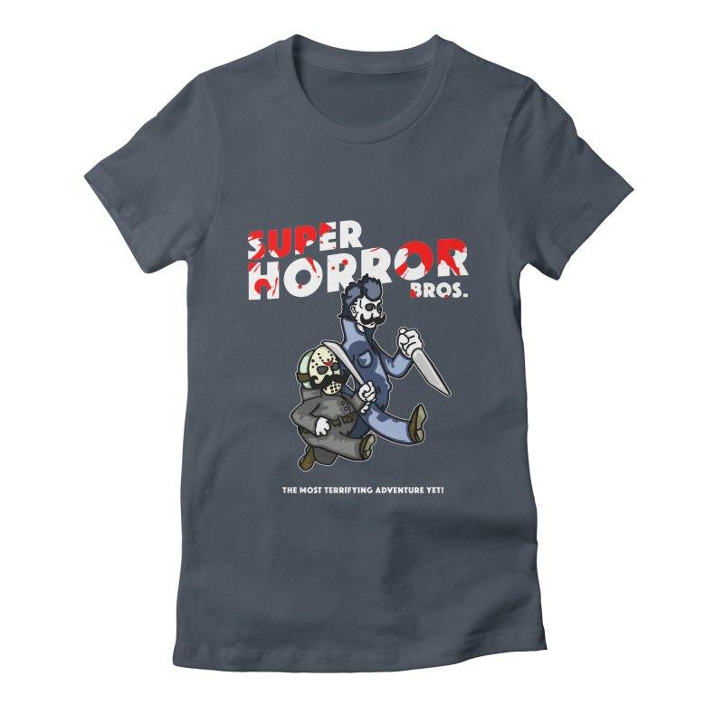 Super Horror Bros Women's T-Shirt by Norman Wilkerson Designs