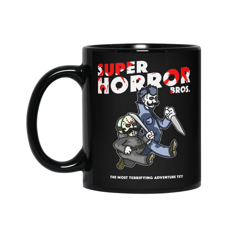 Super Horror Bros Accessories Standard Mug by Norman Wilkerson Designs