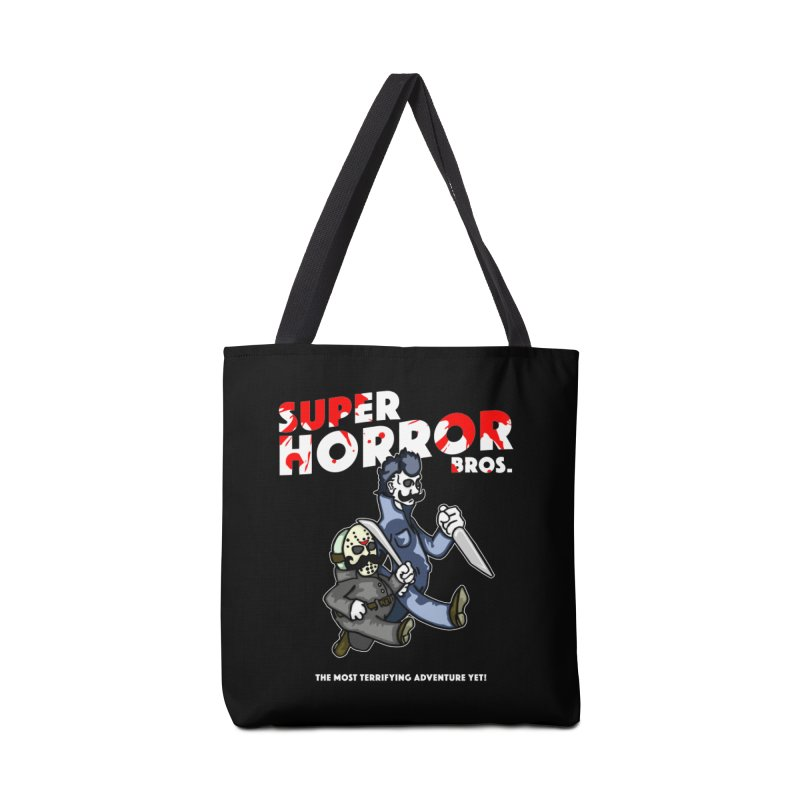 Super Horror Bros Accessories Tote Bag Bag by Norman Wilkerson Designs