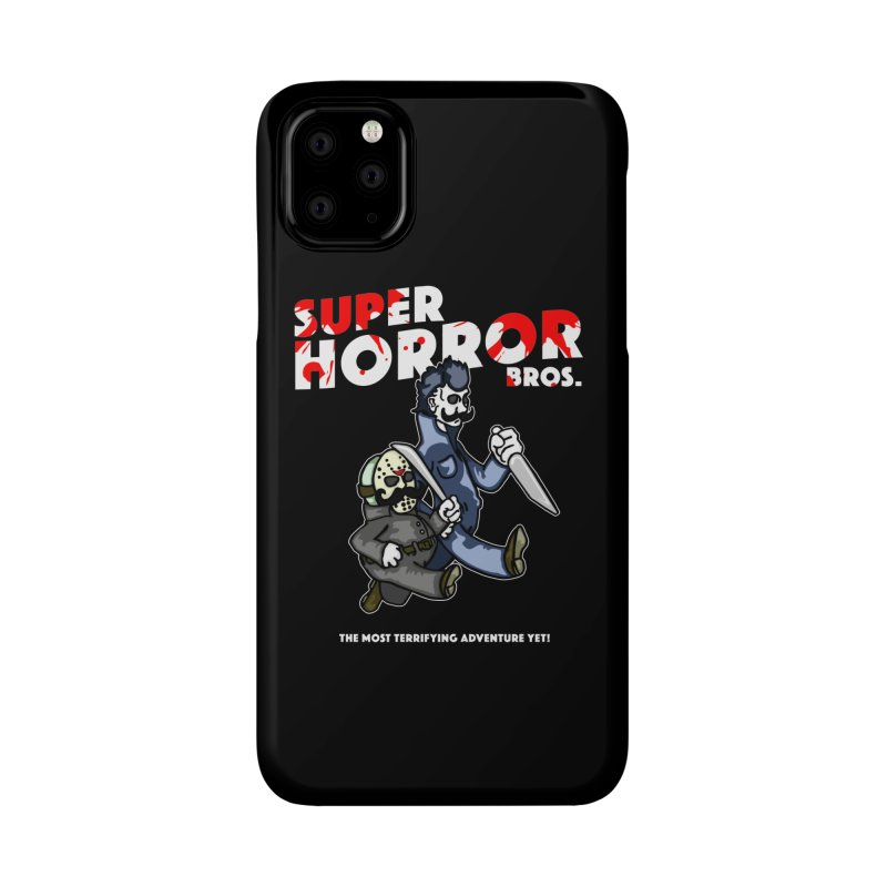 Super Horror Bros Accessories Phone Case by Norman Wilkerson Designs