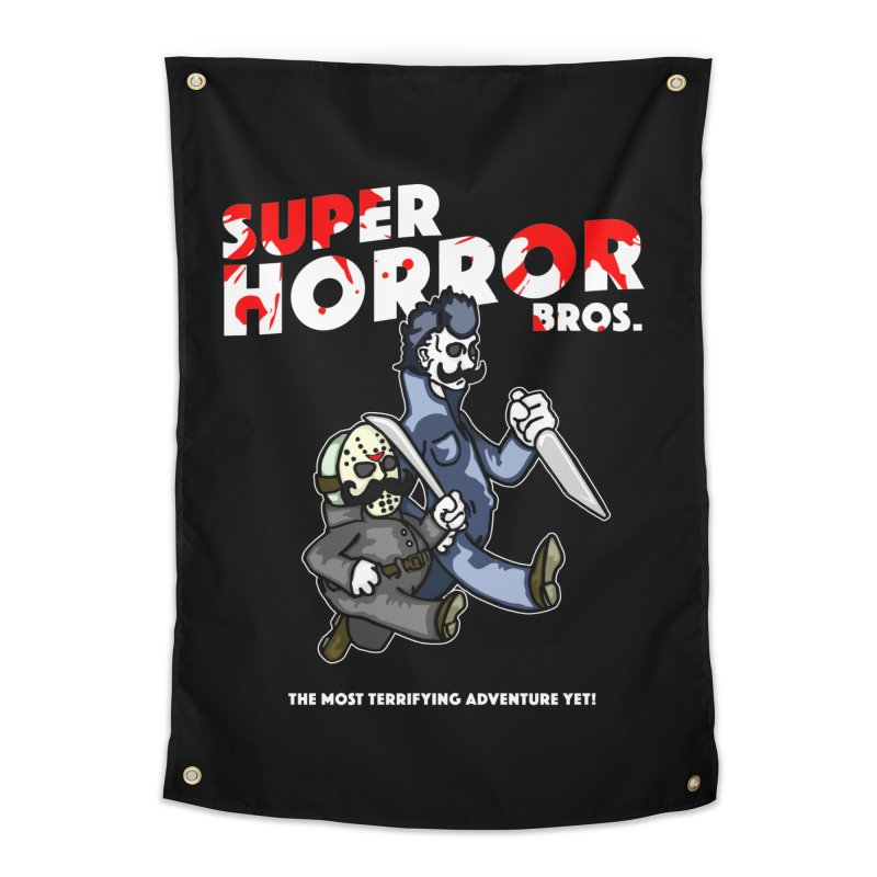 Super Horror Bros Home Tapestry by Norman Wilkerson Designs