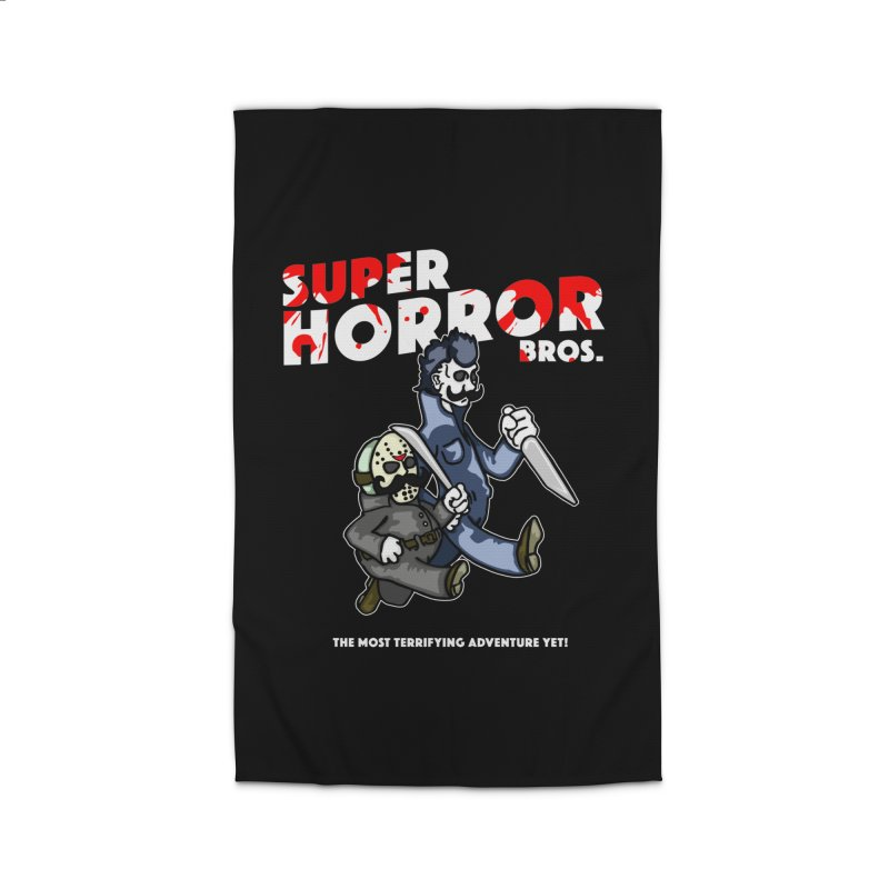 Super Horror Bros Home Rug by Norman Wilkerson Designs