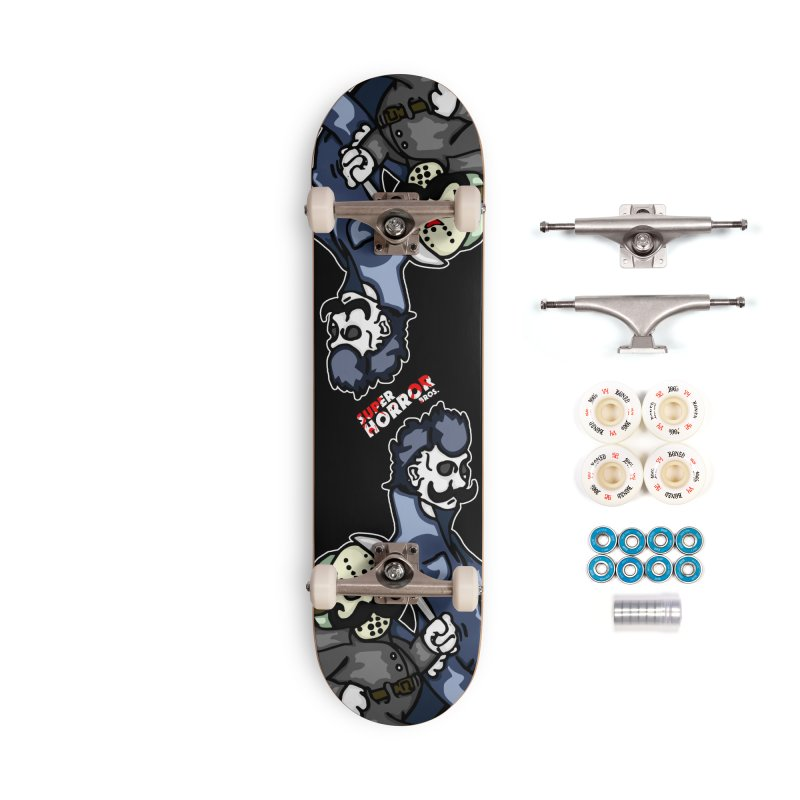 Super Horror Bros Accessories Complete - Premium Skateboard by Norman Wilkerson Designs