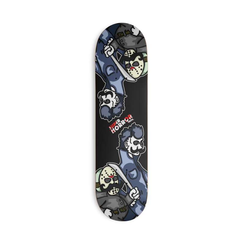 Super Horror Bros Accessories Deck Only Skateboard by Norman Wilkerson Designs