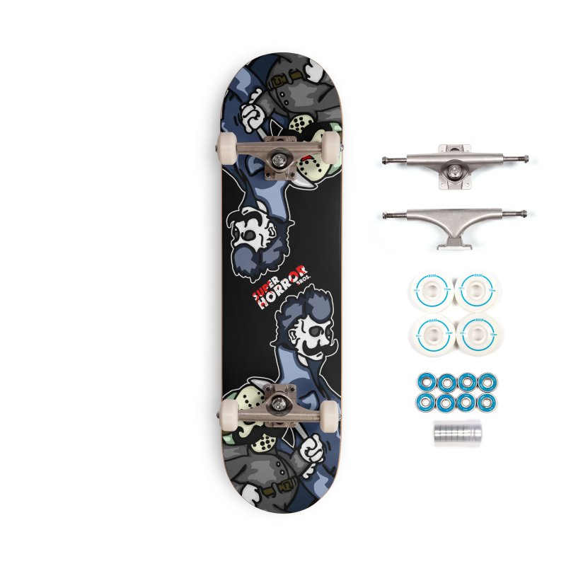 Super Horror Bros Accessories Complete - Basic Skateboard by Norman Wilkerson Designs